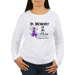 In Memory GIST Cancer Women's Long Sleeve T-Shirt