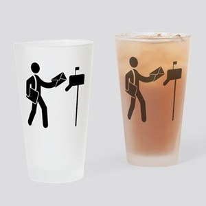 Mailman Drinking Glass