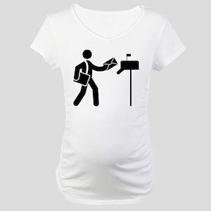 Mailman Maternity T-Shirt