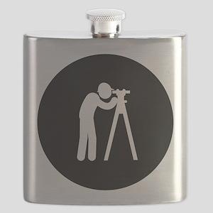 Land Surveyor Flask