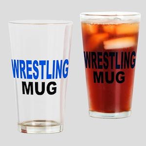 WRESTLING MUG Drinking Glass