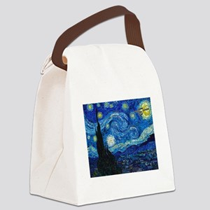 Starry Trek Night Canvas Lunch Bag