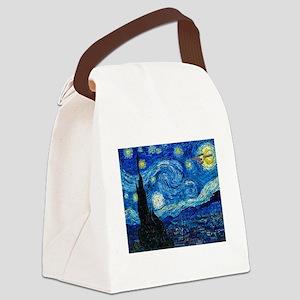 Starry Trek Night Canvas Lunch Bag