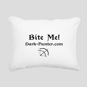 whitebm Rectangular Canvas Pillow