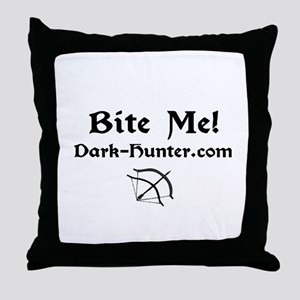 whitebm Throw Pillow