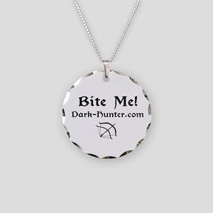 whitebm Necklace Circle Charm