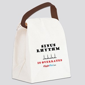 Sinus is Overrated 02 Canvas Lunch Bag