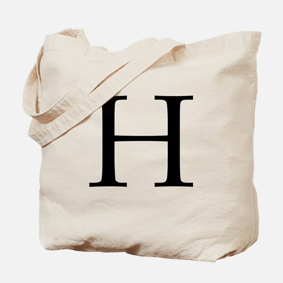 H_Book_Antiqua_black.psd Tote Bag