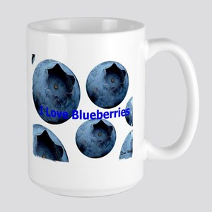 I Love Blueberries Mugs
