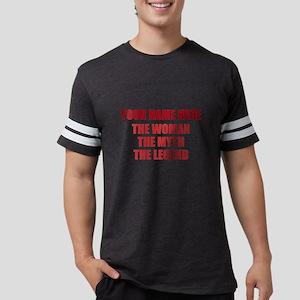 Personalized Woman Myth Legend Mens Football Shirt