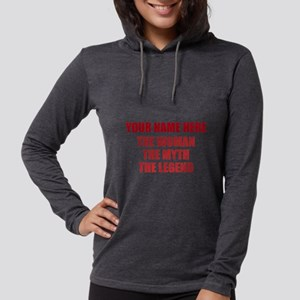 Personalized Woman Myth Legend Womens Hooded Shirt