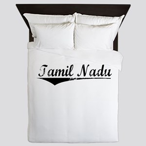 Tamil Nadu, Aged, Queen Duvet