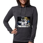 Alice In Wonderland Womens Hooded Shirt