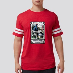 Alice in Wonderland Caterpillar Mens Football Shir