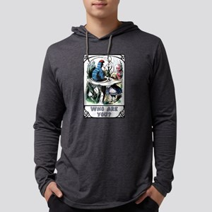 Alice in Wonderland Caterpillar Mens Hooded Shirt