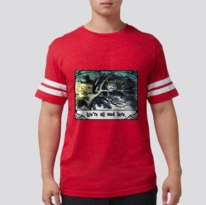 Cheshire Cat Mens Football Shirt