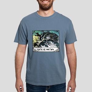 Cheshire Cat Mens Comfort Colors Shirt
