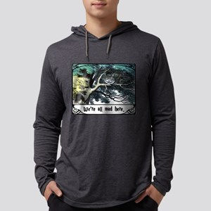 Cheshire Cat Mens Hooded Shirt