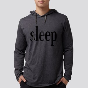I Want Sleep Mens Hooded Shirt