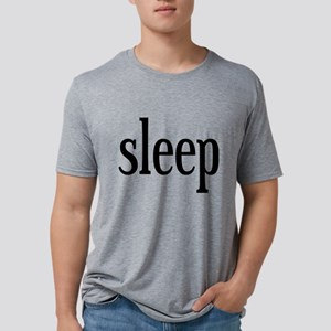 I Want Sleep Mens Tri-blend T-Shirt
