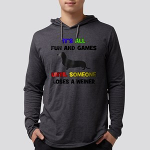 Fun & Games - Weiner Mens Hooded Shirt
