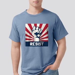 RESIST Fist Mens Comfort Colors Shirt