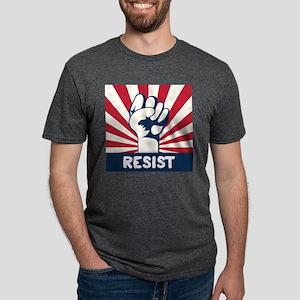 RESIST Fist Mens Tri-blend T-Shirt