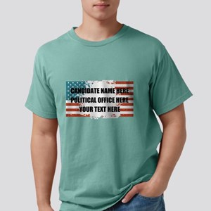 Personalized USA President Mens Comfort Colors Shi