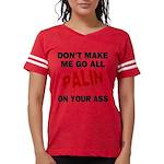 FIN-palin-on-your-ass Womens Football Shirt