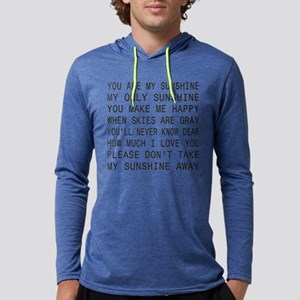 You Are My Sunshine Mens Hooded Shirt