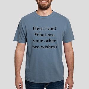 Here I Am Mens Comfort Colors Shirt
