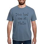 FIN-you had me.png Mens Comfort Colors Shirt