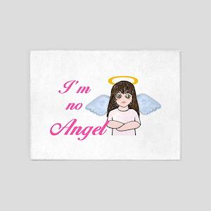 I'm No Angel 5'x7'Area Rug