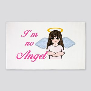 I'm No Angel 3'x5' Area Rug