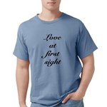 FIN-love at first Mens Comfort Colors Shirt