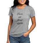 FIN-love at first.png Womens Tri-blend T-Shirt