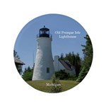 Old Presque Isle Lighthouse Button