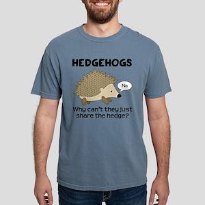 Hedgehog Pun Mens Comfort Colors Shirt