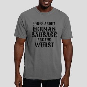 German Sausage Pun Mens Comfort Colors Shirt