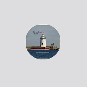 Harbor Beach Lighthouse Mini Button