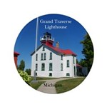 Grand Traverse Lighthouse Button