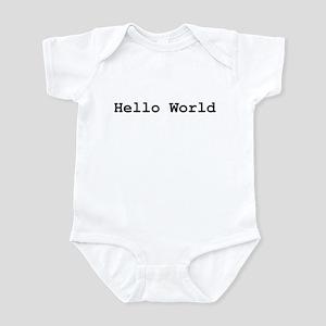 Hello World Infant Creeper