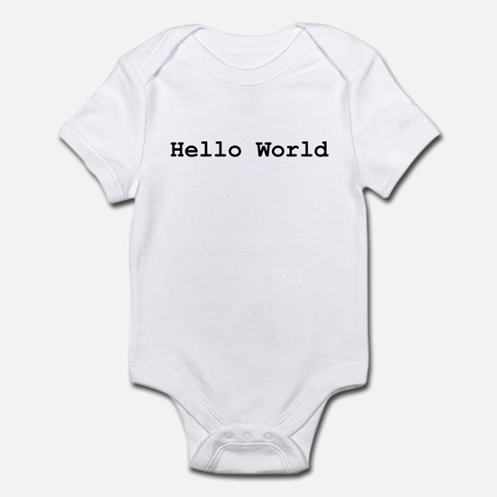 Hello World Infant Creeper