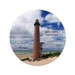 Little Sable Point Lighthouse Button