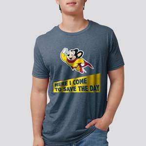 Mighty Mouse Mens Tri-blend T-Shirt