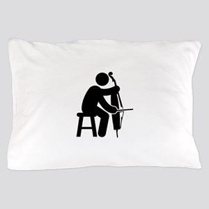 Cellist Pillow Case