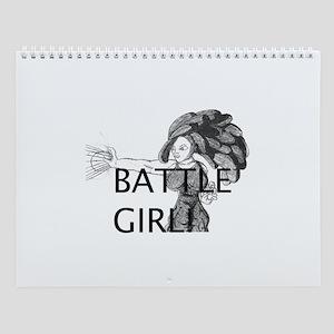 BATTLE GIRL Wall Calendar