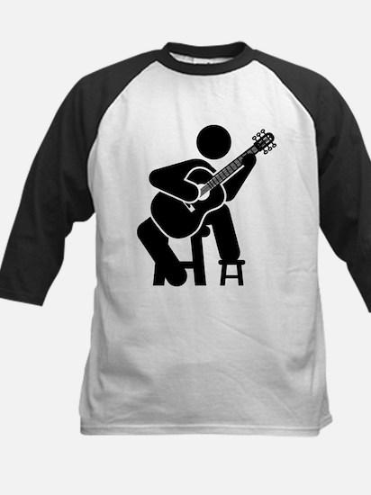 Classical Guitar Kids Baseball Jersey