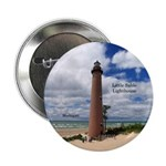 "Little Sable Point Lighthouse 2.25"" Button"