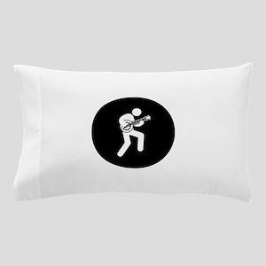 Banjo Player Pillow Case